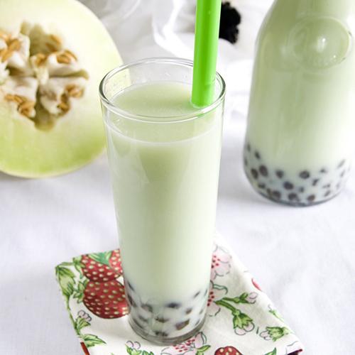 bubble tea au melon